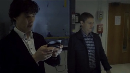 john's smartphone