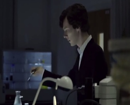Sherlock Holmes in Labo