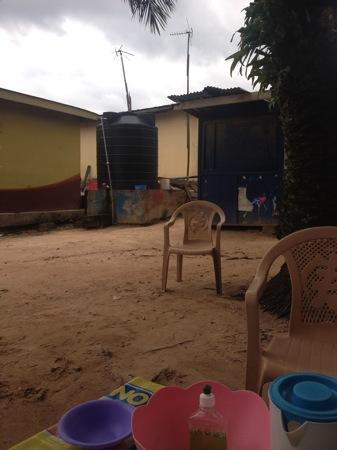 ガーナの食卓