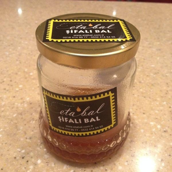 お土産の蜂蜜