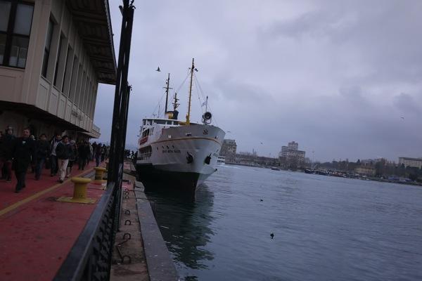 イスタンブールのフェリー