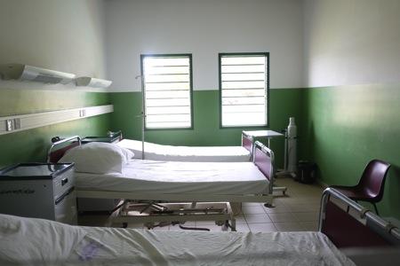 ガーナの病院
