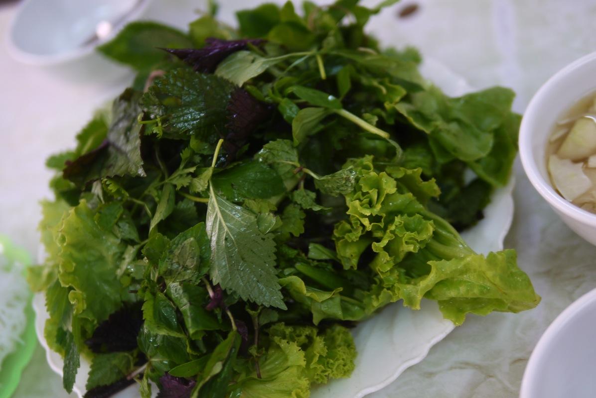 ベトナム野菜とハーブ