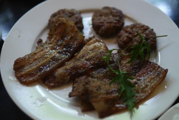 ブンチャーの肉