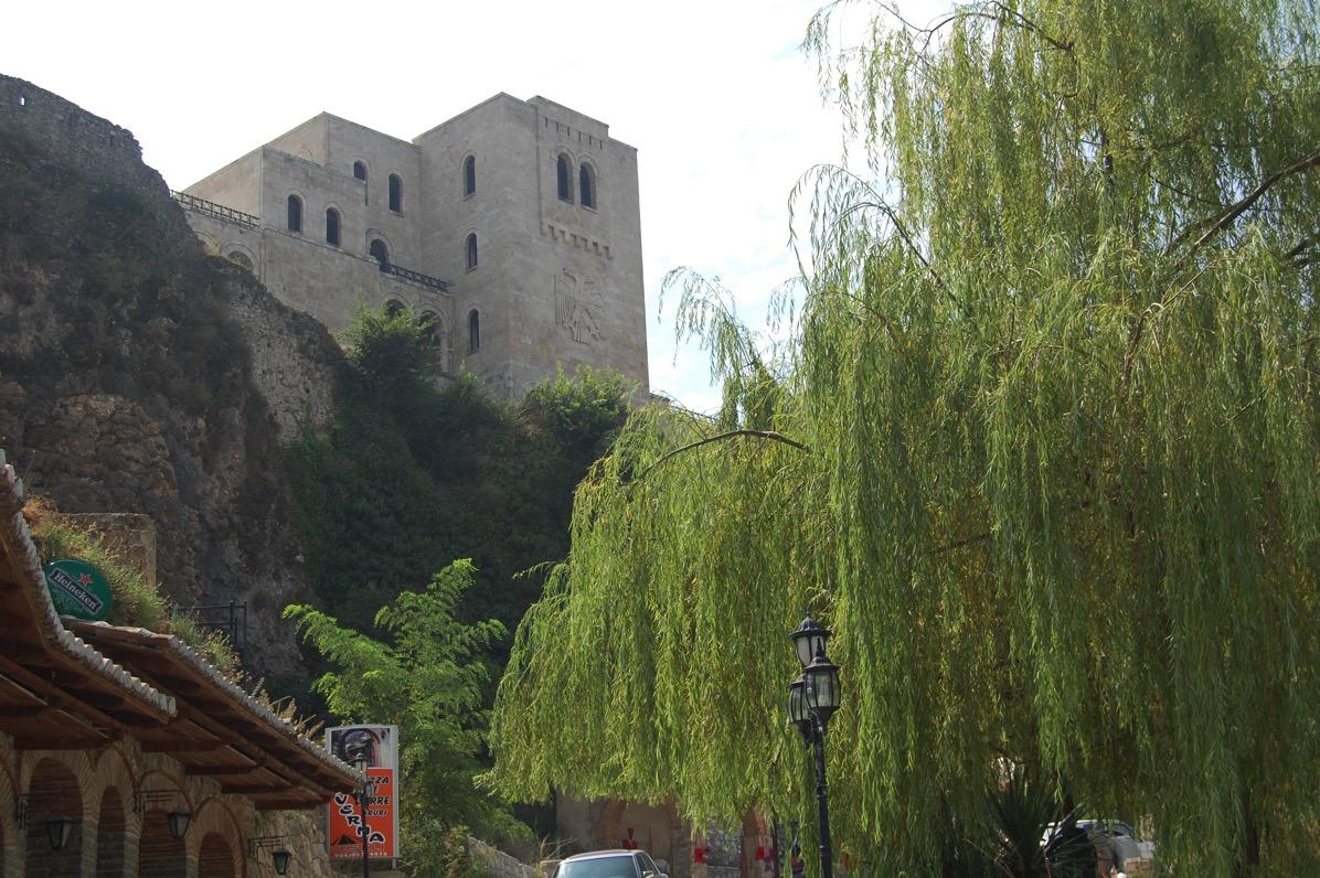アルバニア クルヤ城壁