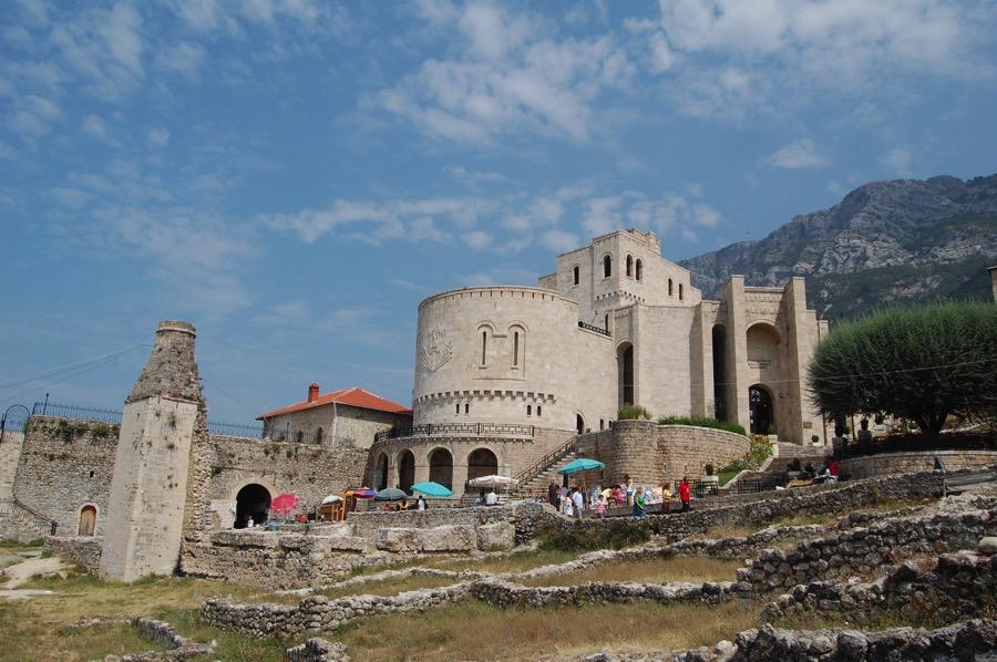アルバニア クルヤ城砦
