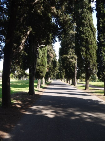 アッピア旧街道