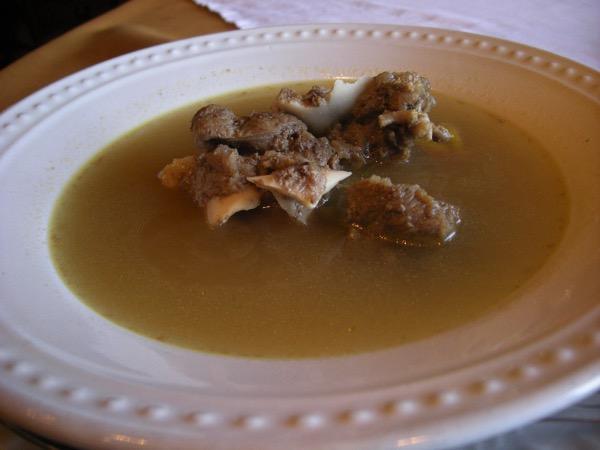 リベリア牛骨スープ