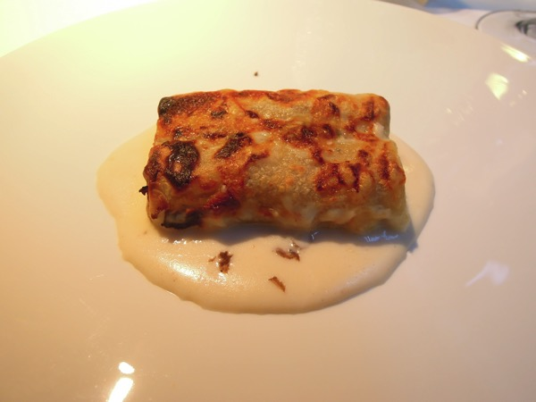 Sant Estive Cannelloni, traditional with black truffle