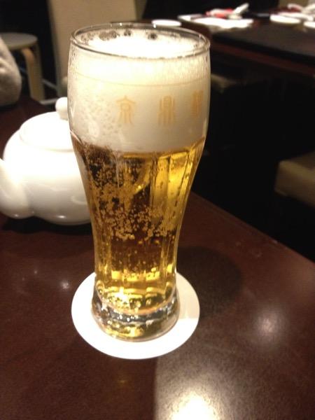 京鼎樓ビール