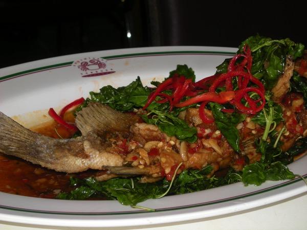 ソンブーン魚料理