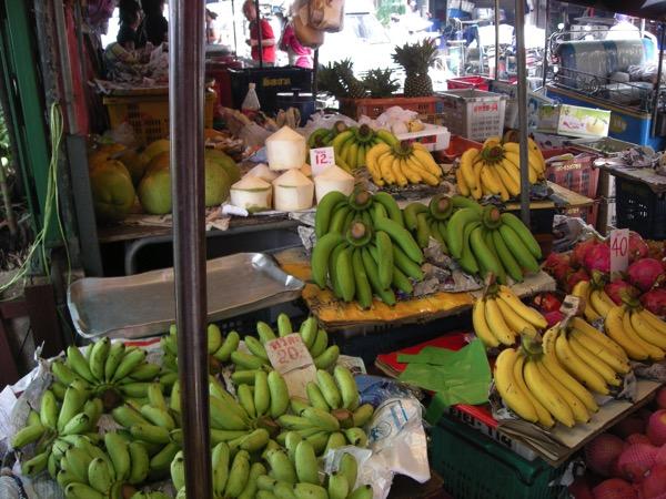 バンコクの市場