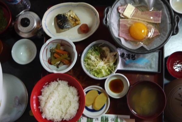 藤三旅館朝食