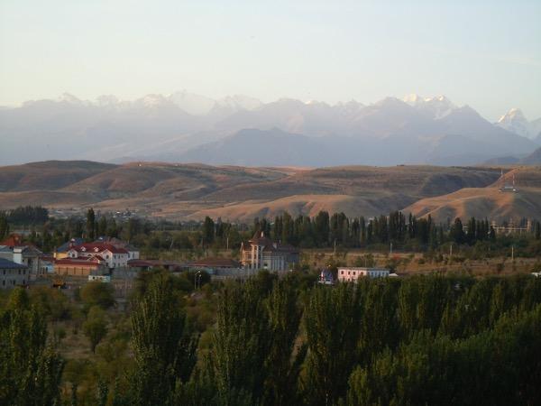 キルギスの山