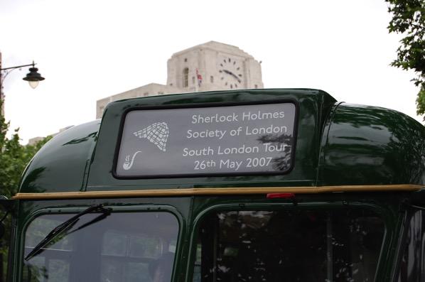 SHSL南ロンドンツアーバス