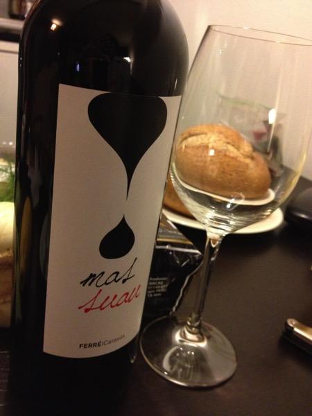 スペインワインとパン