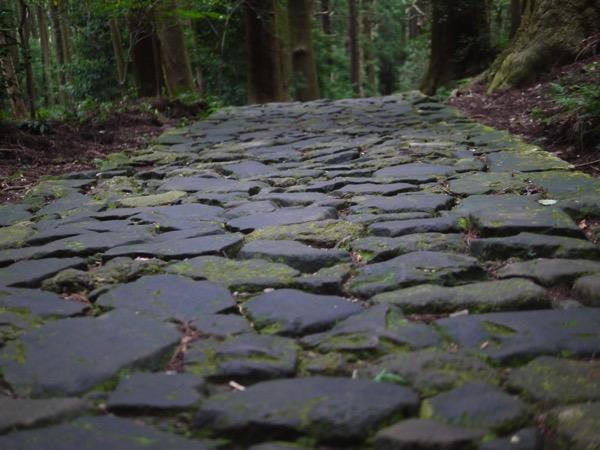 熊野古道石畳