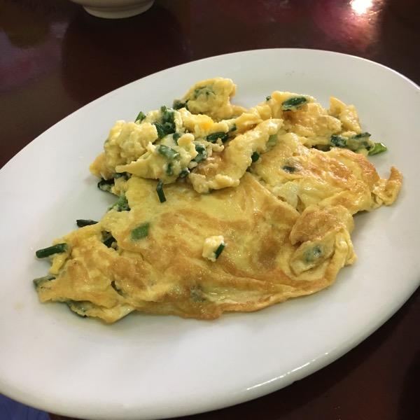 アヒルの卵焼き