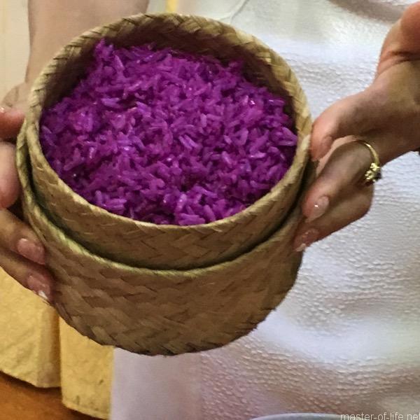 ライチャウ紫のご飯