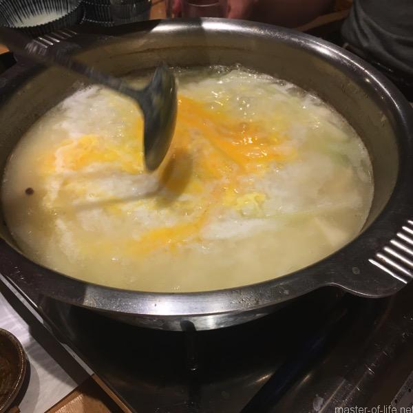 くえ鍋雑炊