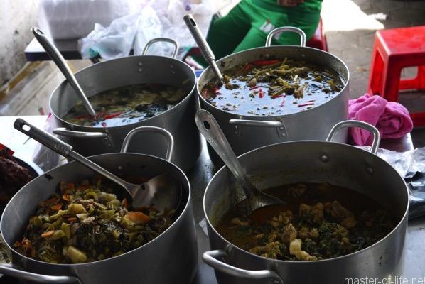 カンボジアのお総菜