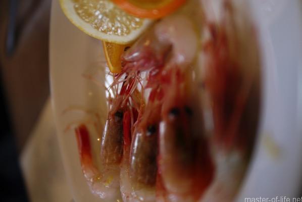 海老のマリネ
