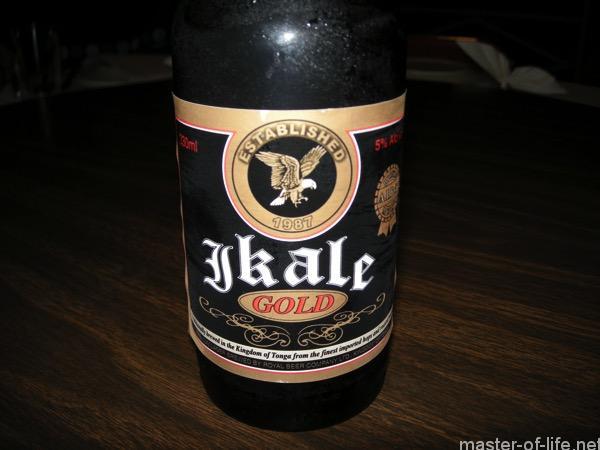 トンガビールIkale
