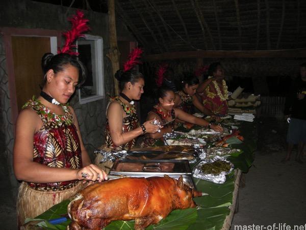 トンガ料理