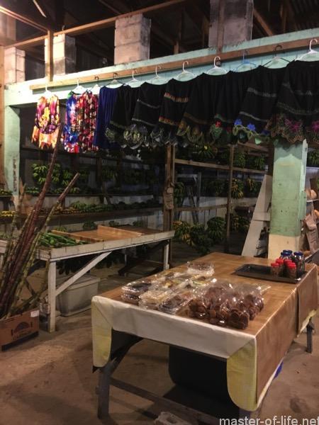 ミクロネシアの市場