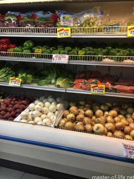 ミクロネシアのスーパーマーケット
