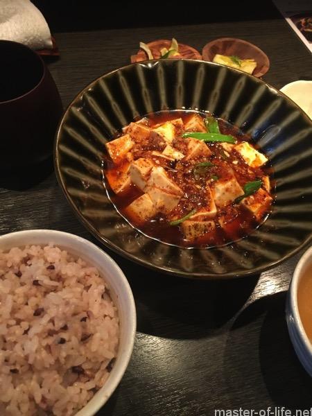 「酒廊而空」ランチ麻婆豆腐