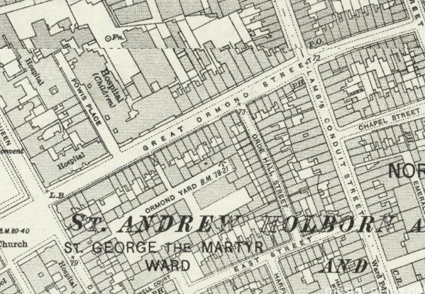ロンドン古地図