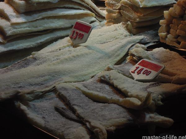 スペインの塩鱈