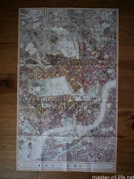 ブースのロンドン東部貧困地図