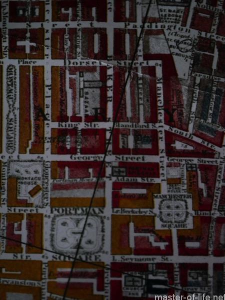 ブースの貧困地図ベーカー街