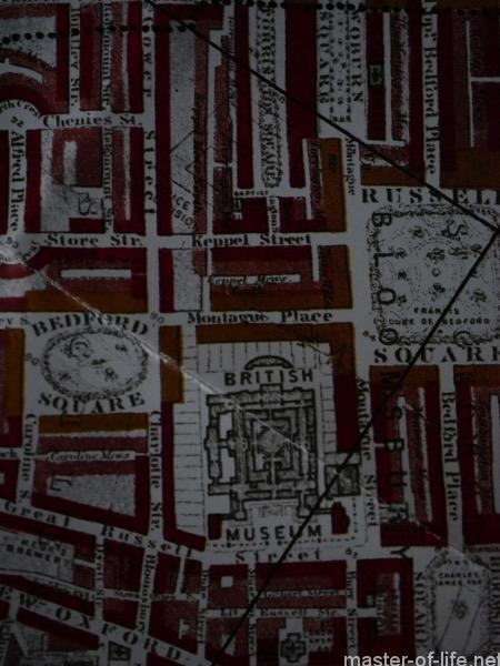 ブースの貧困地図ベーカー街モンタギュー街