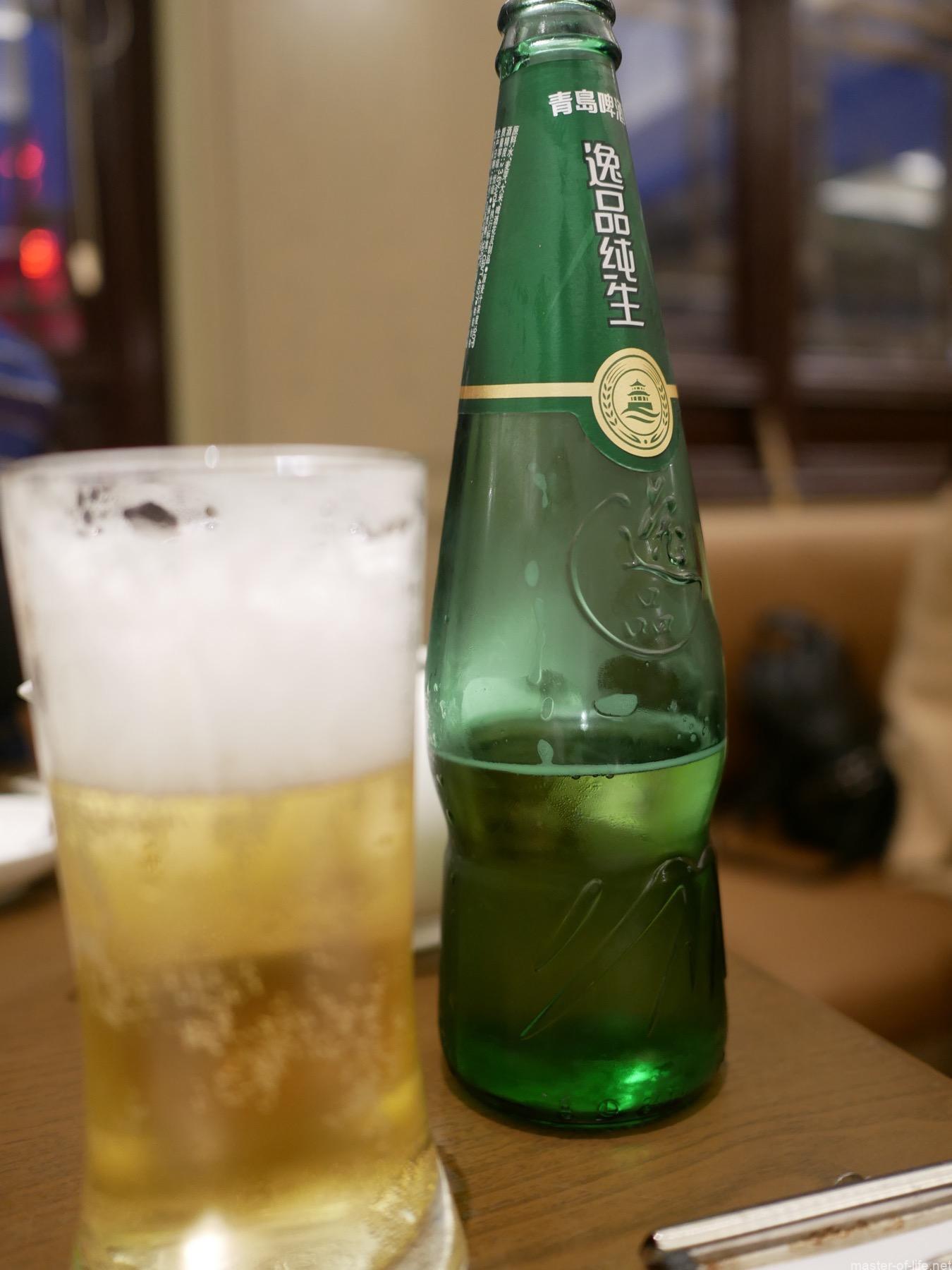 南翔饅頭店ビール