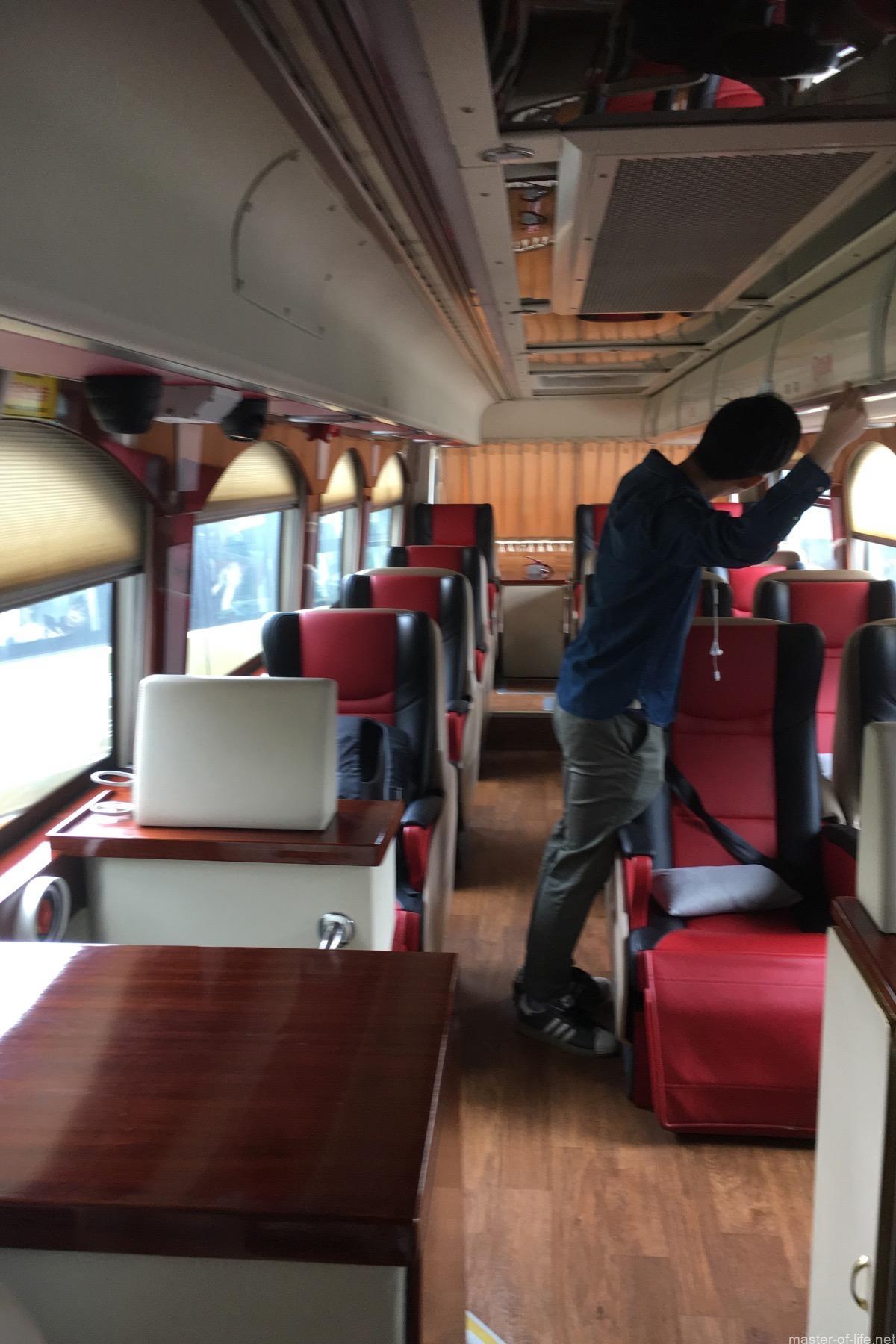 杭州行きのバス
