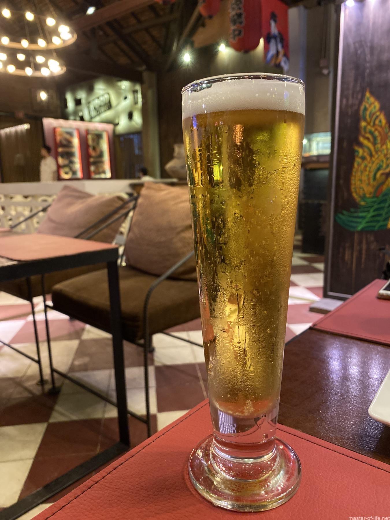 パブストリート生ビール