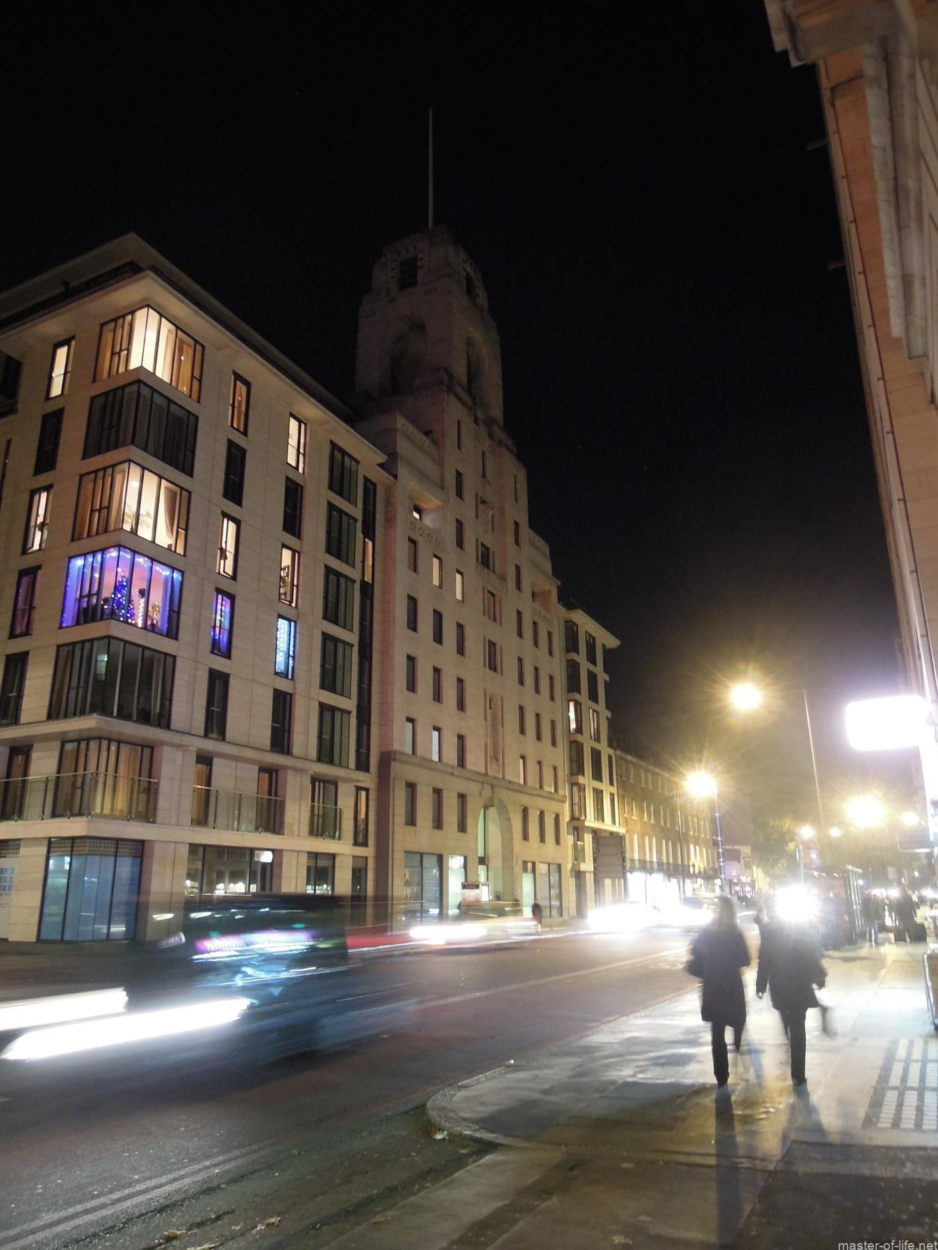 ベーカー街夜景