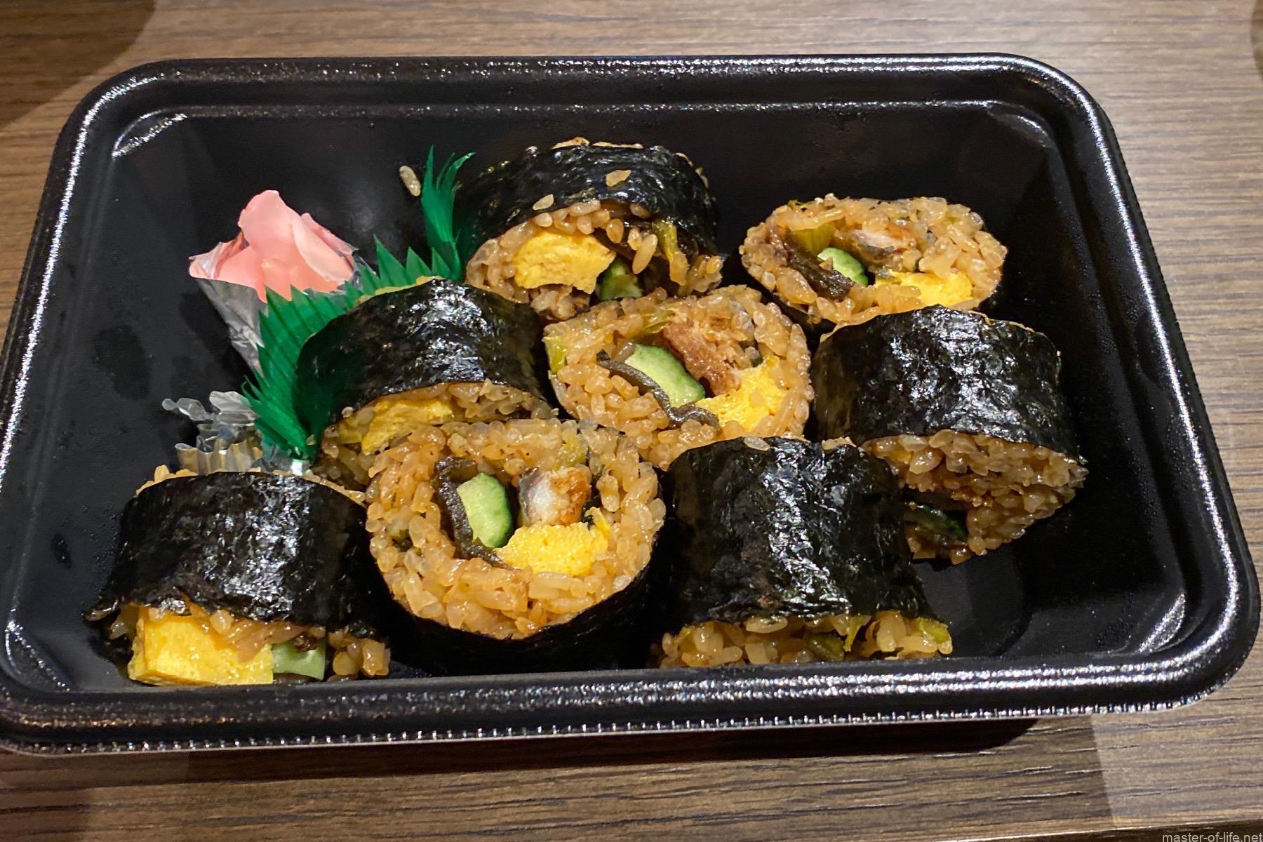 一口鰻巻き寿司