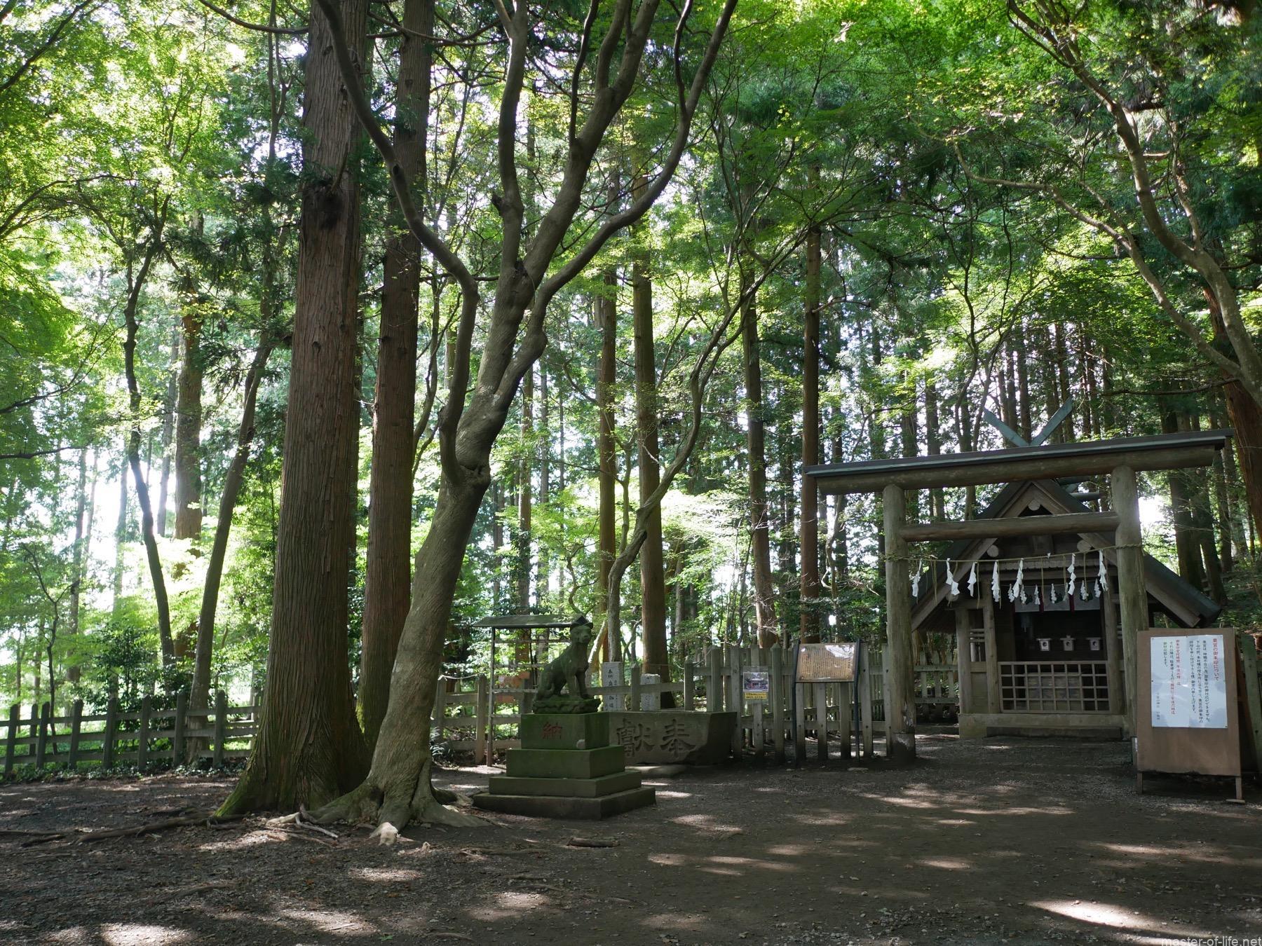 寳登山神社奥宮